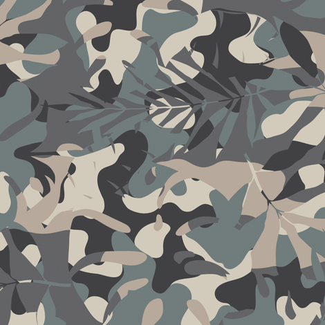 Miro_s_nocturne_camouflage fabric by aygeartist on Spoonflower - custom fabric
