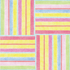 Candy Striped Weave by Diane Costanza Studio
