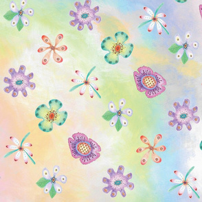 Candy Flowers by Diane Costanza Studio