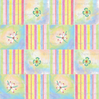 Candy Floral 3 by Diane Costanza Studio