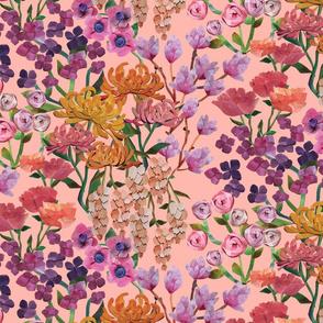 Paper Cut Cascading Garden {Petal}