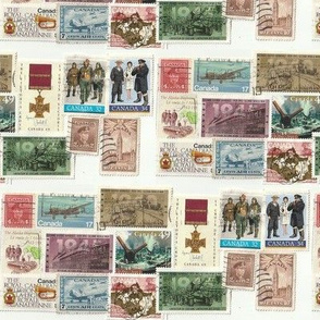 Canadian World War 2 stamps