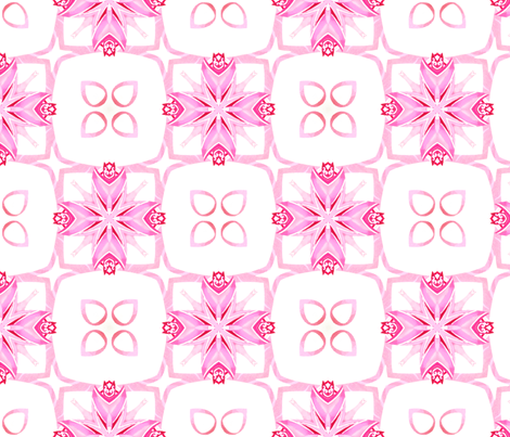 Crystal Pink fabric by ravens_spirit_song on Spoonflower - custom fabric