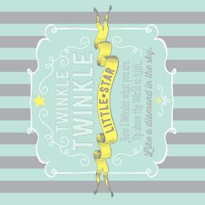 Twinkle Little Star Minky Blanket