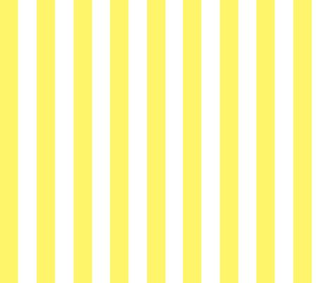 Yellow and White Stripes fabric - bzbdesigner - Spoonflower