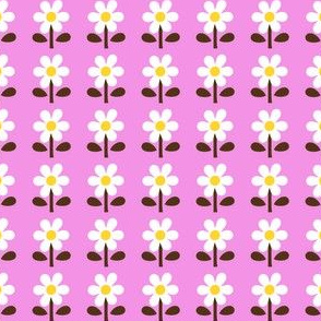 picnic retro flower_pink
