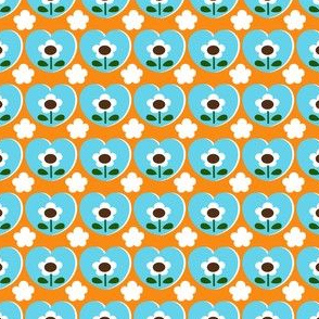 picnic heart flower_orange