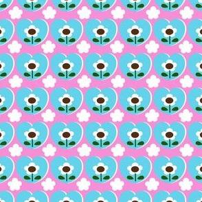 picnic heart flower_pink