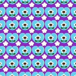 picnic_ heart flower_purple
