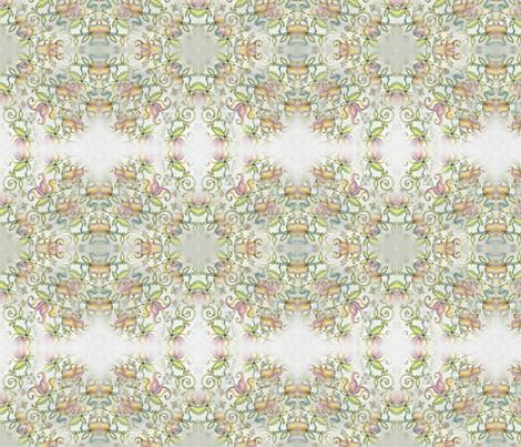 vintage_10 fabric by cocoadesignlife_antleeli on Spoonflower - custom fabric