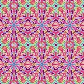 Starry Sparklers on Ripe Plum