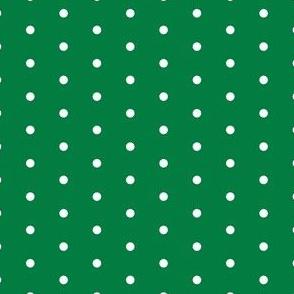 Mini Dot christmas minimal pattern green