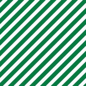 Stripes christmas minimal pattern med green