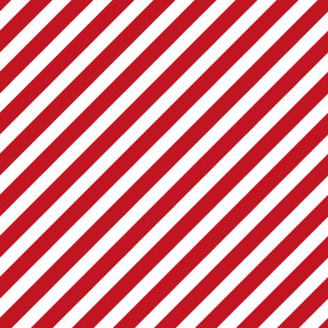 Stripes christmas minimal pattern red fabric by petfriendly on Spoonflower - custom fabric