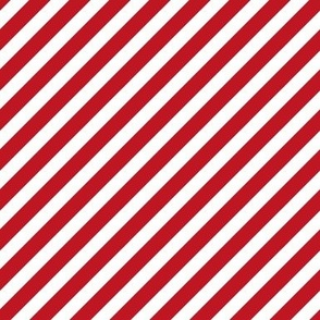 Stripes christmas minimal pattern red