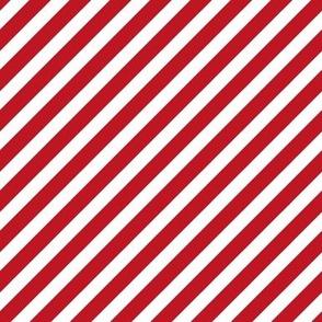 Stripes christmas minimal pattern red