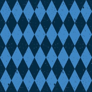 Gritty Harlequin (2 blue)