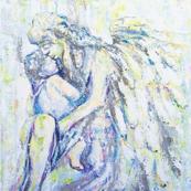 Angel Guardian Pillow