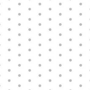 grey mini dots fabric