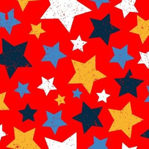 Gritty Stars (red)