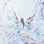 Angel in Flight Pillow