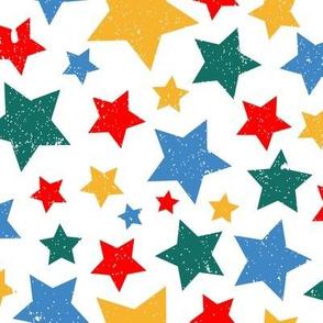 Gritty Stars (white)