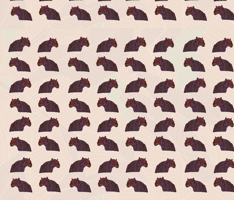 leopard_blacklight_repeat fabric by perlinstudio on Spoonflower - custom fabric