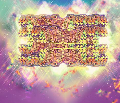 leopard_block_trippy fabric by perlinstudio on Spoonflower - custom fabric