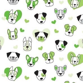 Luv Pups Green
