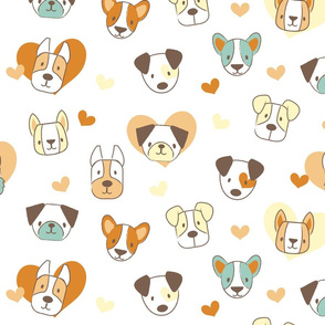 Love Pups Retro