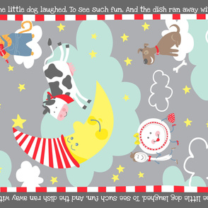 Cow Over the Moon Minky Blanket