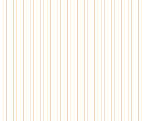 Peach and White Pinstripe fabric by essieofwho on Spoonflower - custom fabric
