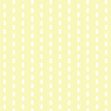 Clara's Diamonds- Light Yellow fabric by essieofwho on Spoonflower - custom fabric