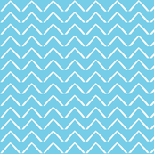 ZigZag Arrows - Perfect Aqua