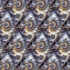 curly fractal fur