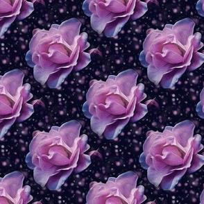 romantic rose - painted