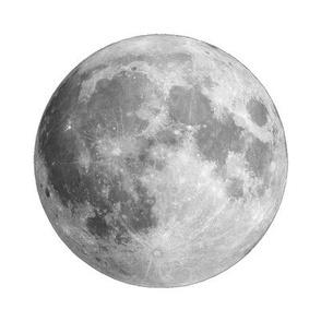 Moon Quilt Square