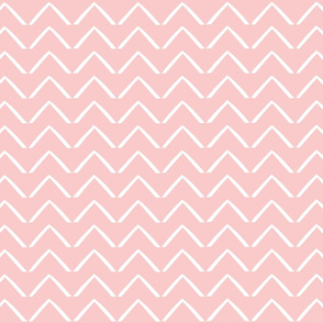 ZigZag Arrows - Blush