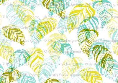 summer_leaves-aqua_green