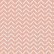 ZigZag Arrows - Deco Coral