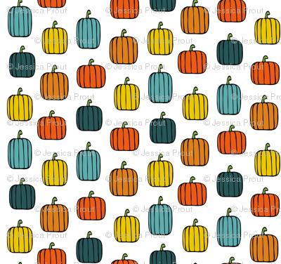 multi pumpkins