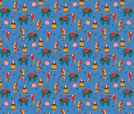 RetroCircus fabric by aliss* on Spoonflower - custom fabric