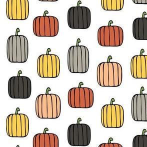 multi pumpkins - warm