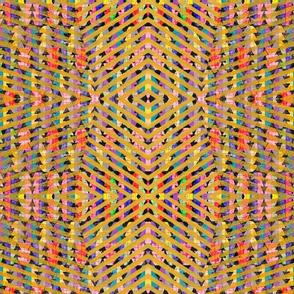 NY1325 Rainbow Zigzag
