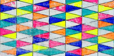 NY1326 Rainbow Triangles