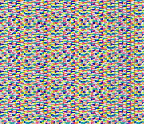 NY1326 Rainbow Triangles fabric by jennifersanchezart on Spoonflower - custom fabric