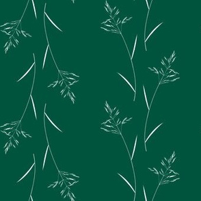 Grass on Dark Green