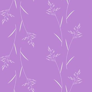 Grass on Violet