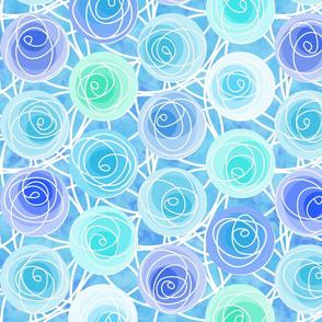 renne's roses in sky
