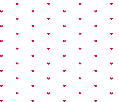 Heart Dots Red fabric by vivaeris_designs on Spoonflower - custom fabric